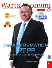 Cover Majalah Warta Ekonomi ED 07 Juli 2018