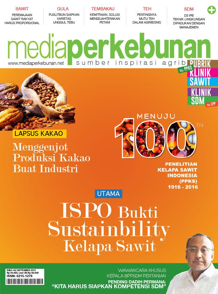 Majalah Digital media perkebunan ED 142 September 2015