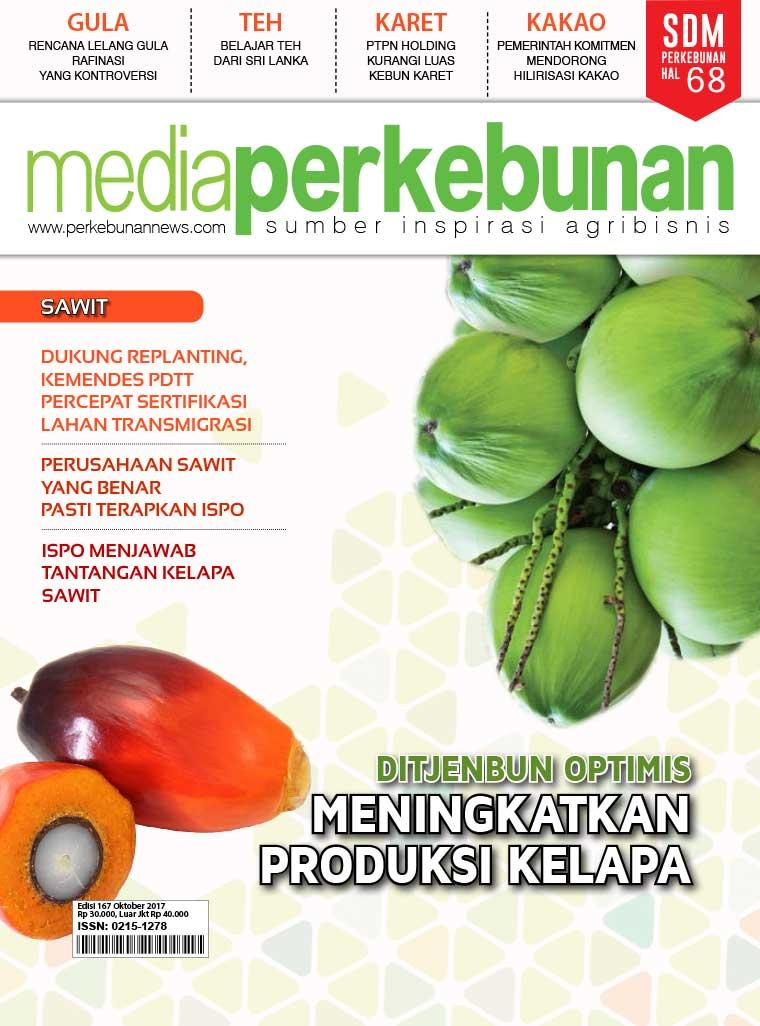 Media perkebunan Digital Magazine ED 167 October 2017