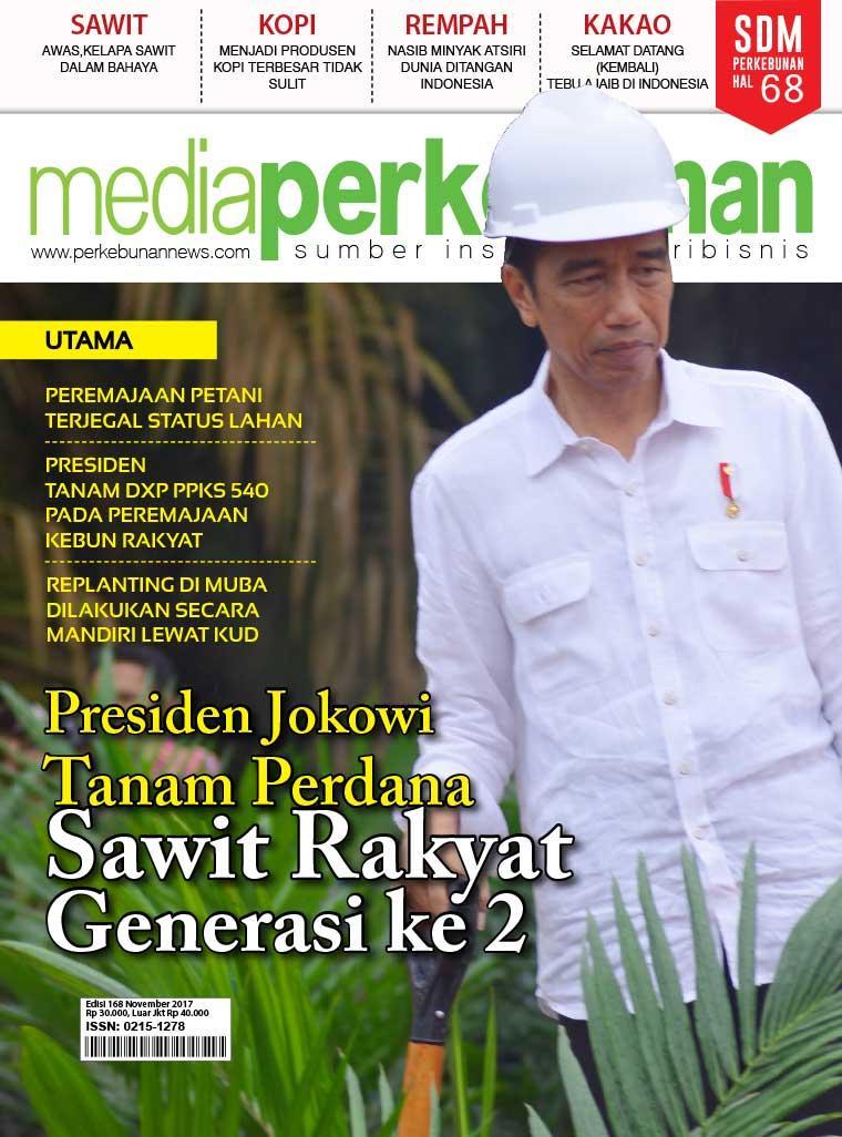 Majalah Digital media perkebunan ED 168 November 2017