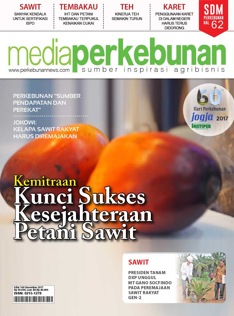 Media perkebunan Digital Magazine ED 169 December 2017