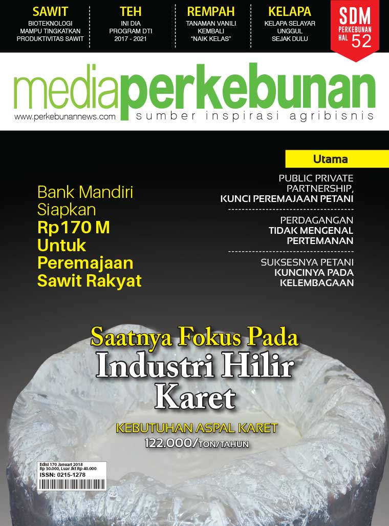 Media perkebunan Digital Magazine ED 170 January 2018