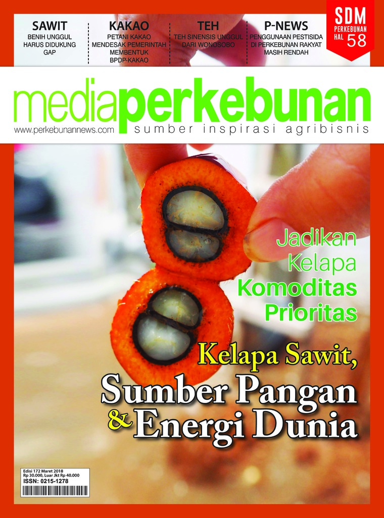 Media perkebunan Digital Magazine ED 172 March 2018