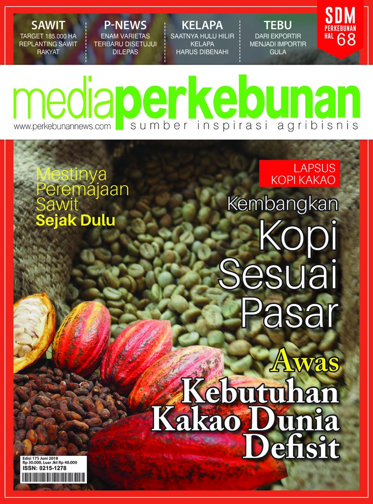 Media perkebunan Digital Magazine ED 175 June 2018