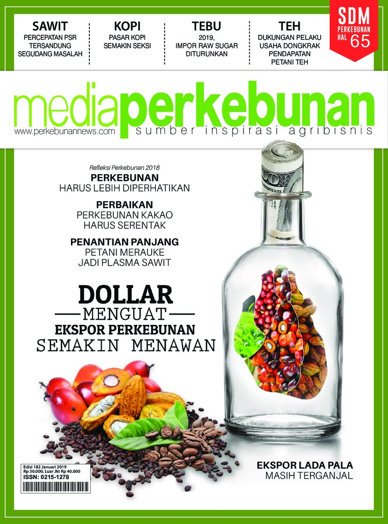 Majalah Digital media perkebunan ED 182 Januari 2019