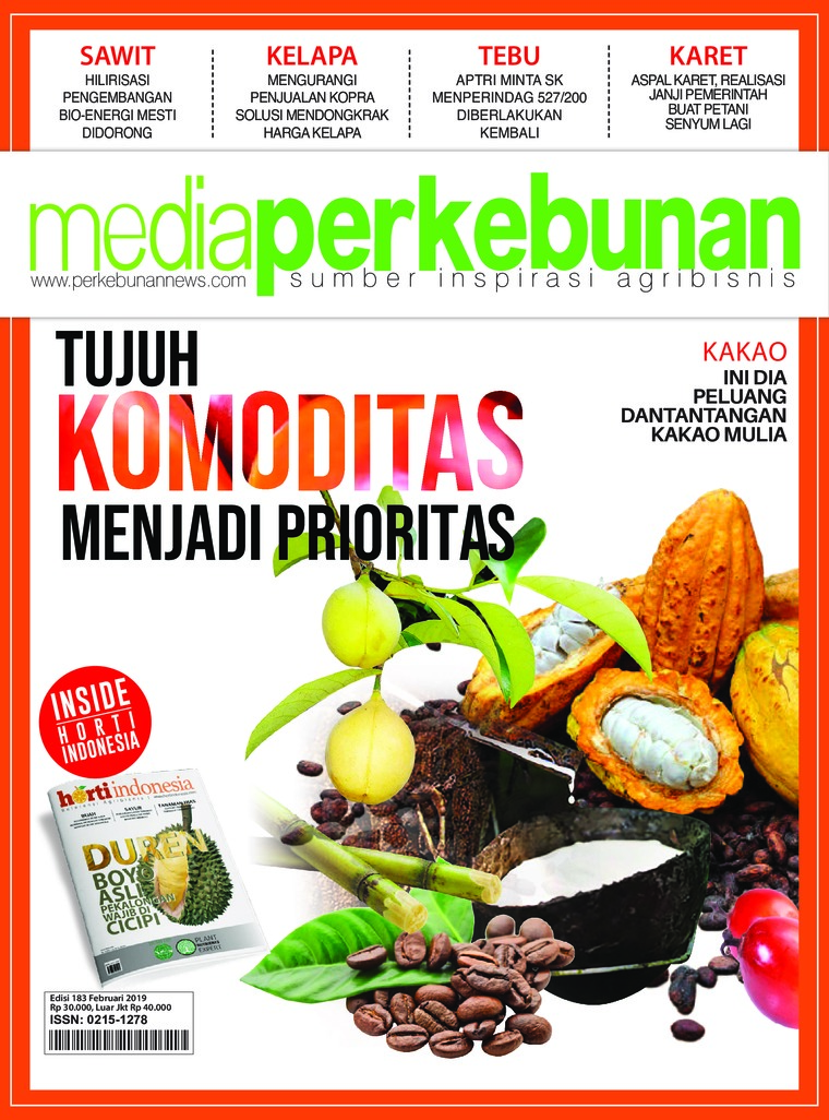 Media perkebunan Digital Magazine ED 193 February 2019