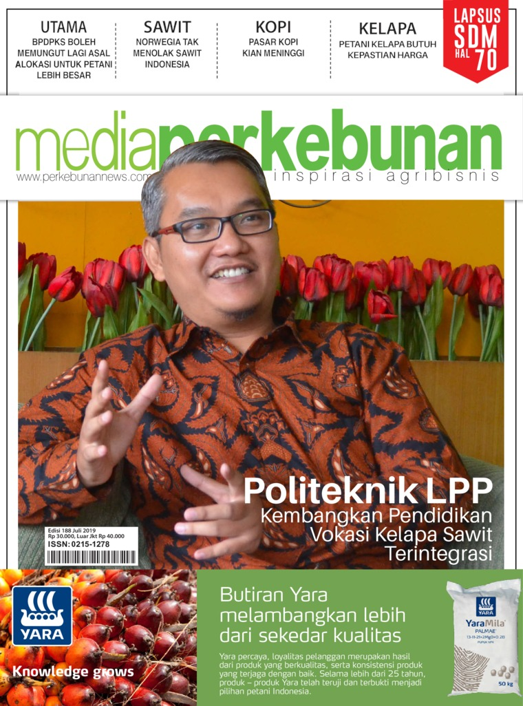 Media perkebunan Digital Magazine ED 188 July 2019