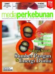 Cover Majalah media perkebunan