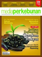 Media perkebunan Magazine Cover ED 174 May 2018
