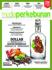 Media perkebunan Magazine Cover ED 182 January 2019