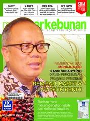 Cover Majalah media perkebunan ED 184 Maret 2019