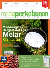 Cover Majalah media perkebunan ED 185 April 2019