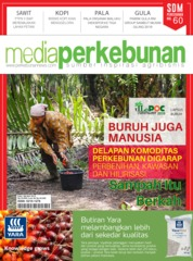 Cover Majalah media perkebunan ED 186 Mei 2019