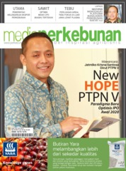 Media perkebunan Magazine Cover ED 187 June 2019