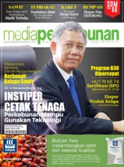 Cover Majalah media perkebunan ED 190 September 2019