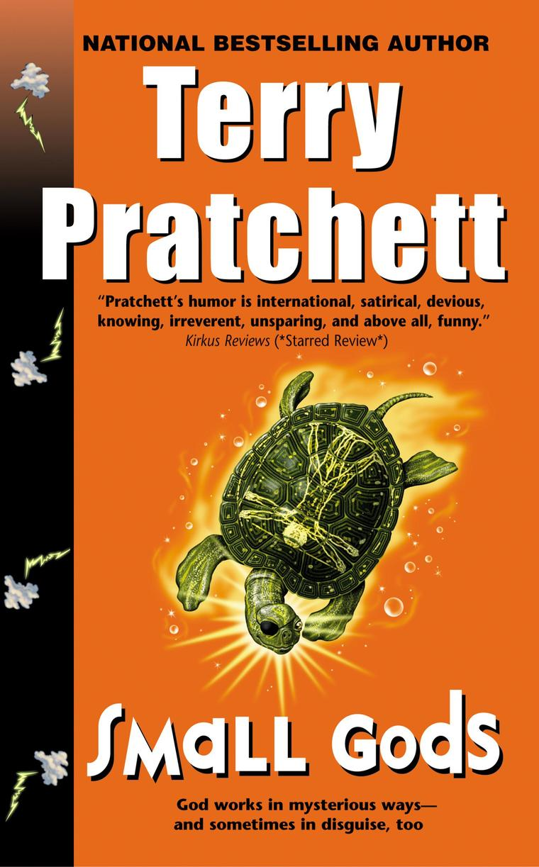Buku Digital Small Gods oleh Terry Pratchett