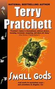 Small Gods by Terry Pratchett Cover