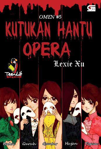 Buku Digital Omen#5: Kutukan Hantu Opera oleh Lexie Xu