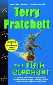 The Fifth Elephant by Terry Pratchett Cover