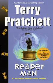 Reaper Man by Terry Pratchett Cover