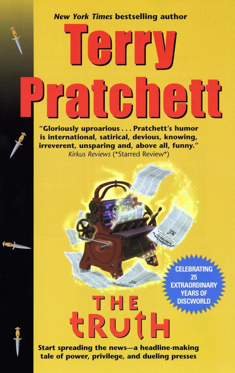 Buku Digital The Truth oleh Terry Pratchett