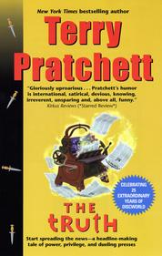 The Truth by Terry Pratchett Cover