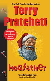 Hogfather by Terry Pratchett Cover