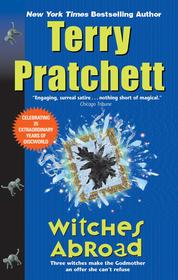 Cover Witches Abroad oleh Terry Pratchett