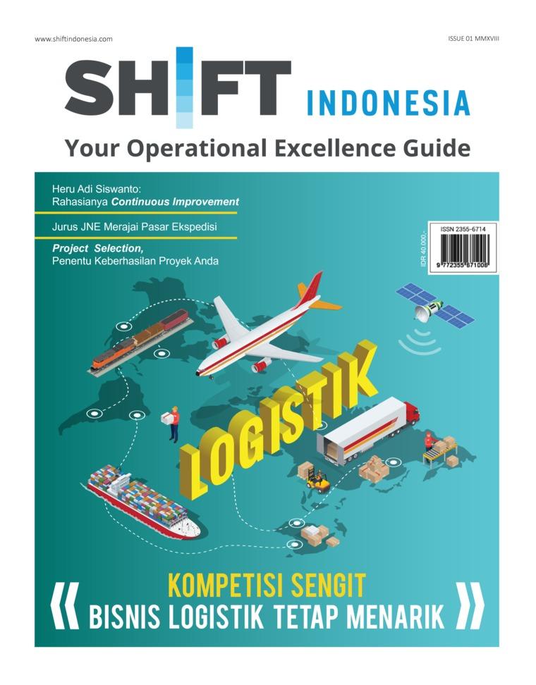 Majalah Digital SHIFT Indonesia ED 01 April 2018