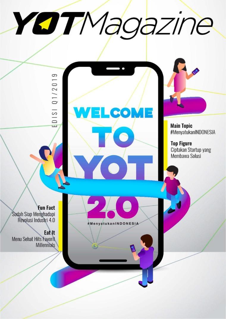 Majalah Digital YOT Magazine Januari 2019