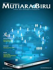 Cover Majalah Mutiara Biru