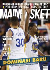 Cover Majalah MAINBASKET ED 58 Juli 2017