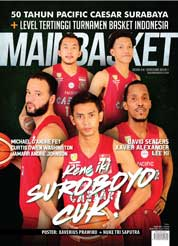 Cover Majalah MAINBASKET ED 64 Januari 2018