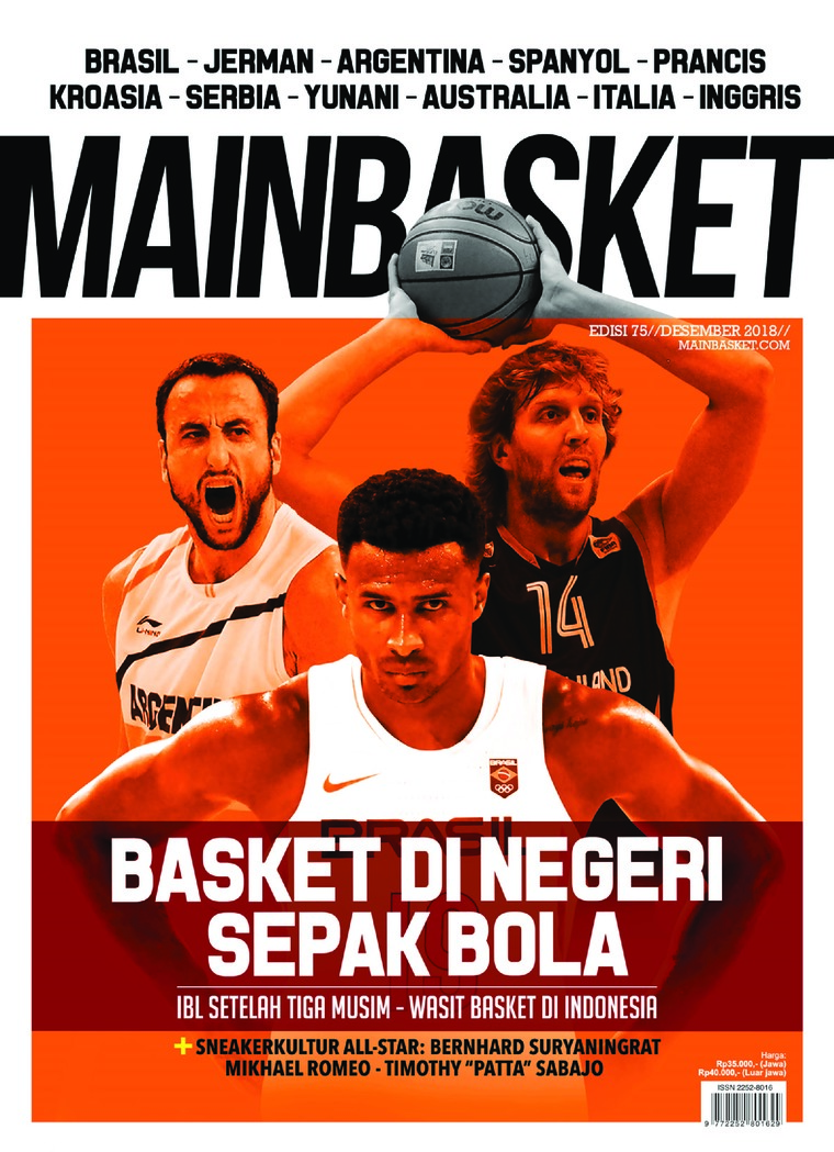 Majalah Digital MAIN BASKET ED 75 Desember 2018
