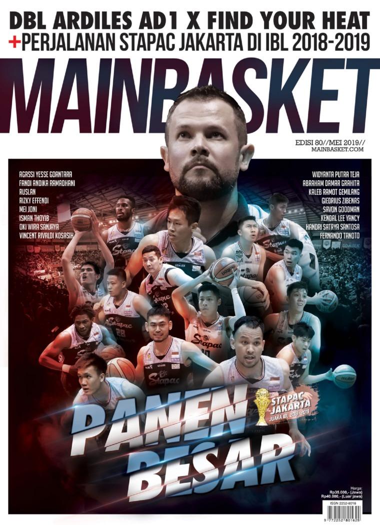 Majalah Digital MAIN BASKET ED 80 Mei 2019
