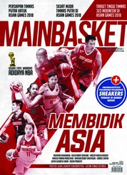 Cover Majalah MAIN BASKET ED 70 Juli 2018