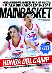 Cover Majalah MAIN BASKET ED 76 Januari 2019