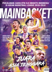 Cover Majalah MAIN BASKET ED 82 Juli 2019