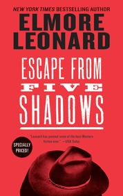 Cover Escape from Five Shadows oleh Elmore Leonard