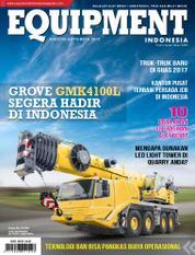 EQUIPMENT Indonesia Magazine Cover August 2017
