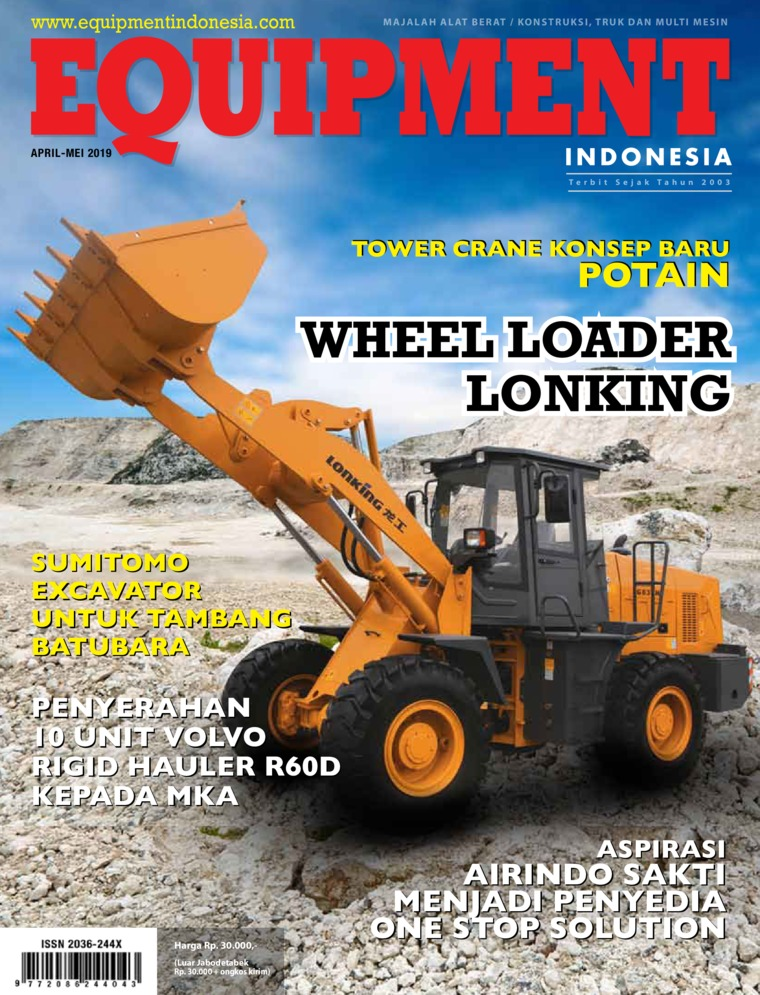 Majalah Digital EQUIPMENT Indonesia April 2019
