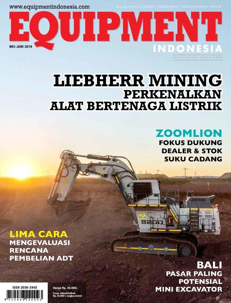 Majalah Digital EQUIPMENT Indonesia Mei 2019