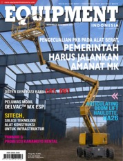 EQUIPMENT Indonesia Magazine Cover November 2017