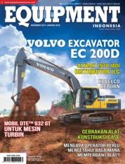 EQUIPMENT Indonesia Magazine Cover December 2017