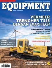 EQUIPMENT Indonesia Magazine Cover January 2018