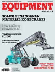 EQUIPMENT Indonesia Magazine Cover March 2018