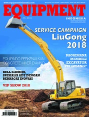 Cover Majalah EQUIPMENT Indonesia April 2018