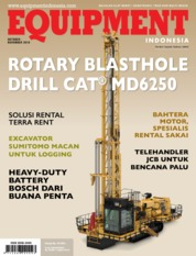 EQUIPMENT Indonesia Magazine Cover October-November 2018