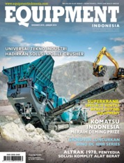 Cover Majalah EQUIPMENT Indonesia Desember-Januari 2019