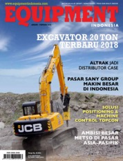 Cover Majalah EQUIPMENT Indonesia Januari 2019